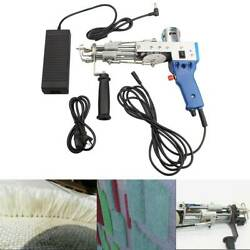Electric Loop Cut Pile Type Carpet Weaving Machine Hand Tufting Gun Rug Tool $161.77