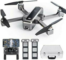 Potensic D88 Foldable Drone, 5G WiFi with 2K Camera, Case, 2 Batteries $250.00