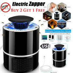 19CM Mosquito Killer Lamp Indoor Fly Bug Insect Zapper Trap Pest Control Light $13.97