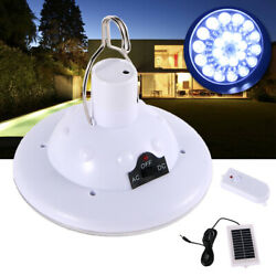 LED Outdoor Solar light Hooking Camp Garden Lamp W Remote Control 22 light bulb
