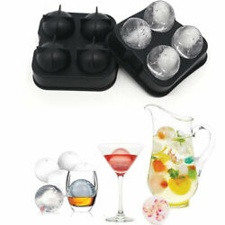 Frozen Ice Ball Maker – Novelty Food Grade Silicone Ice Mold Tray $13.89