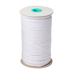 White Elastic Band Cord 14 inches width (6mm) 80 Yards Sewing For Face Mask up $7.99