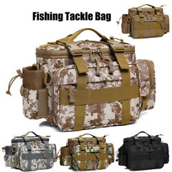 Carp Coarse Lure Fishing Tackle Bag Waist Pack Carryall Holdall Gear Storage Bag $44.99