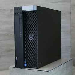 Dell Precision T5600 2x Xeon E5-2620  2.0 64GB RAM 256 SSD Quadro 2000 Win 10