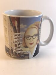 Anne Taintor SHE WAS COMFORTED Ceramic Mug Cup