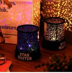 Romantic Gifts LED Starry Night Sky Projector Lamp Star Light Master Party Decor $15.10