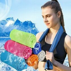 Cooling Towel Instant Chilling Cold Neck Wrap Scarf for Running  $5.99
