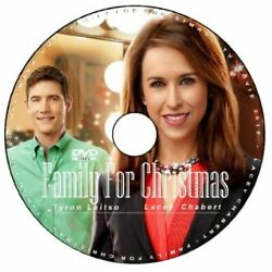 FAMILY FOR CHRISTMAS DVD 2015 HALLMARK MOVIE (Disc Only) Lacey Chabert