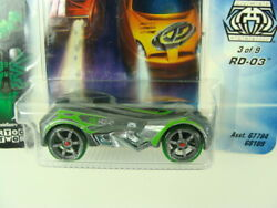 Hot Wheels Acceleracers Racing Drones RD 03 Silver Combine Shipping $16.99