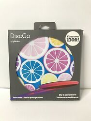 DiscGo Foldable Fits In Your Pocket Flies Over 130 Feet Frisbee Foldable $9.99
