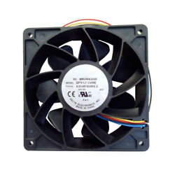 7500RPM Cooling Fan Replacement 4 pin Connector For Antminer Bitmain S7 S9 Black $10.99