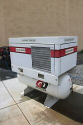 GARDNER DENVER ELECTRA SAVER II ROTARY SCREW AIR COMPRESSOR EBE 99N $6,500.00
