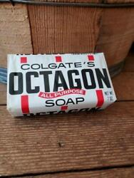 NEW Vintage Antique Colgate#x27;s Octagon All Purpose Large Soap 7.05 oz $24.95