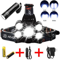 Lumitact G700 LED Flashlight Super bright 80000lm USB Rechargeable Tactical $18.98