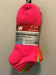 New Balance Core Performance Ladie's No Show socks $9.99