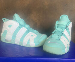 NIKE AIR UPTEMPO SHOES SIZE 6.5Y Turquoise $18.50