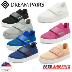 DREAM PAIRS Kids Sneaker Boys Girls Mesh Upper Sports Shoes Comfort Casual Shoes $12.99