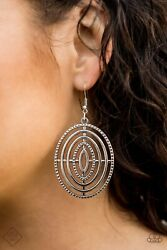 quot;Totally ON Targetquot; Silver Earrings by Paparazzi $5.00
