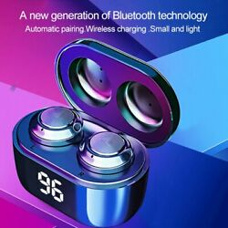 TWS Bluetooth 5.0 Wireless Earphones Earbuds Headset Mini In Ear For iOS Android $8.89