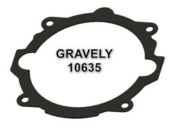 GRAVELY 10635 COMMERCIAL PROFESSIONAL 400 CHASSIS TO ADAPTER PLATE GASKET $11.85