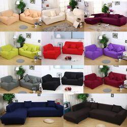 Universal Sofa Cover Slipcover 1 2 3 4 Seater Stretch Couch Furniture Protector $30.99