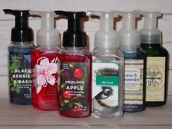 BATH AND BODY WORKS GENTLE FOAMING HAND SOAP ASSORTMENT OF *5* NEW RANDOM 8.75OZ $35.95