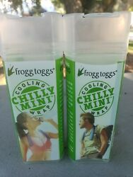 Cooling Towel Neck Wrap Chilly Mini Frogg Toggs Chill Pad 2-Pack $9.99