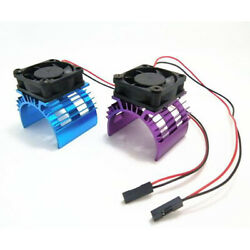 RC Parts Electric Car brushless Motor Heatsink Cover Cooling Fan for 1:10 $5.10