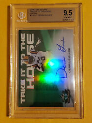 2018 Derrius Guice Leaf Valiant RC To The House Auto # 60 Rated BGS 9.5 Auto 10 $19.99