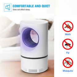 USB Mosquito Insect Killer Zapper LED Light Fly Bug Trap Pest Control Lamp $10.98
