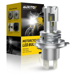 AUXITO H4 9003 HB2 LED Bulb Hi Lo Beam White Motorcycle Headlight High Power M4 $17.99