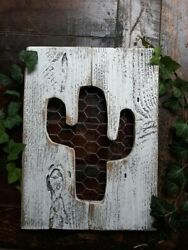 Boho room decor Cactus Green nursery Succulent Wood sign Rustic room wall decor $25.00