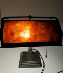 Mica Mission Crafstman Bankers Desk Lamp  $75.00
