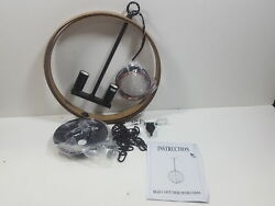 Log Barn Globe Chandeliers for Dining Room Farmhouse Hanging Fixtures $69.97