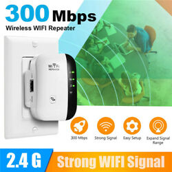 Wireless Wifi Range Extender Super Booster 300mbps Superboost Boost Speed USA $14.23