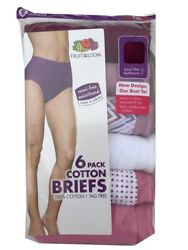 Fruit of the Loom®  Women's Briefs 6-Pack