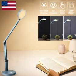 LED Light Desk Table USB Reading Lamp Dimmable Touch Control Eye-Protection $15.99