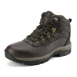 US Men#x27;s Waterproof Hiking Boots Mid Outdoor Backpacking Trekking Trails Shoes $39.56