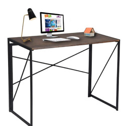 DUMEE Metal Computer Desk Free Shipping Coffee Table 2020 New Modern Office  $124.99
