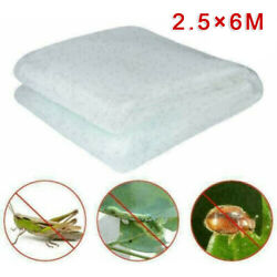 2.5*6M Greenhouse Protective Net Fruit Vegetables Care Cover Insect Plant Covers $15.79