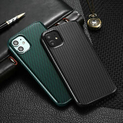 Shockproof Carbon Fibre Case For iPhone 11 Pro Max XR XS Max X XS 7 8Plus Cover $6.99