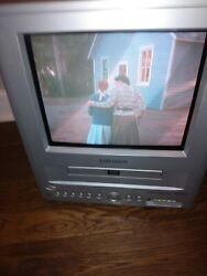 ORION Portable TV DVD Combo Model TVDVD092 9quot; CRT Television Tested Works Great $59.99