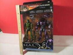 HALO Reach McFarlane Spartan CQC Custom and Elite Minor Figure 2-Pack Toys 2010 $65.00