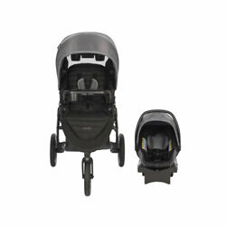 Evenflo Folio3 Stroll and Jog Travel System with LiteMax Car Seat Open Box $164.99