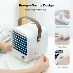 Blaux Portable AC Air Conditioner Fan Personal Air Cooler Cooling Fan Ice Tray $69.89