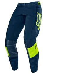 Brand New Fox Motocross Mens Racing Pants 360 Bann Navy Blue. Size 34. $115.00