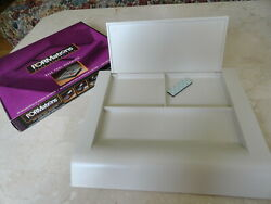 New FORMations Desk Tool Organizer - 3 Compartments - Putty $7.99
