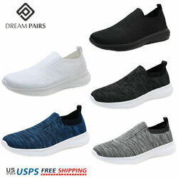 DREAM PAIRS Men#x27;s Slip on Loafer Breathable Fashion Sneakers Sport Walking Shoes $15.59