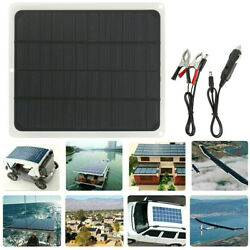 20W Solar Panel 12V Trickle Charge Battery Charger Maintainer Marine RV Car T IT $20.49