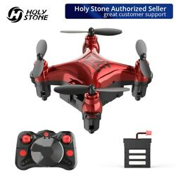 Holy Stone HS410 RC Pocket Drone 2.4Ghz Altitude Hold Headless Mini Quadcopter $19.99